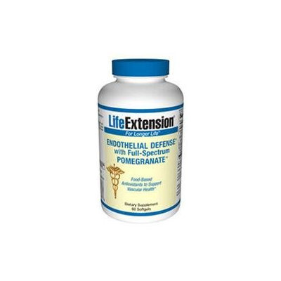 Life Extension Endothelial Defense with Full-Spectrum Pomegranate