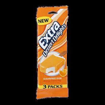 Wrigley's Extra Dessert Delights Orange Creme Pop Sugarfree Gum - 3 PK