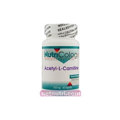 Allergy Research nutricology Acetyl L-Carnitine 250 mg 60 Caps by Nutricology/ Allergy Research Gro