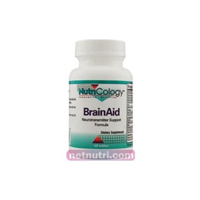Allergy Research nutricology BrainAid 60 Tabs by Nutricology/ Allergy Research Group