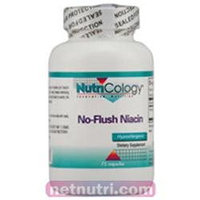 NutriCology No-Flush Niacin - 75 Capsules
