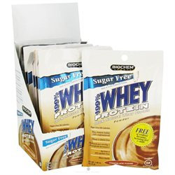 Country Life Biochem Sports 100% Whey Protein Packet - Chocolate 10 Packs