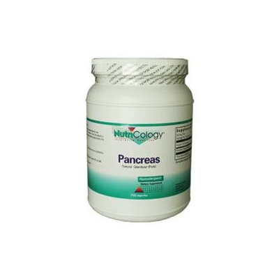 Nutricology/ Allergy Research Group Nutricology - Pancreas Pork 425 mg. - 720 Vegetarian Capsules