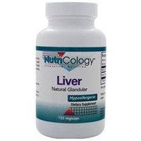 Nutricology 0524512 Liver Organic Glandular - 125 Vegetarian Capsules