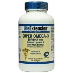 Life Extension Super Omega-3 EPA/DHA, Softgels