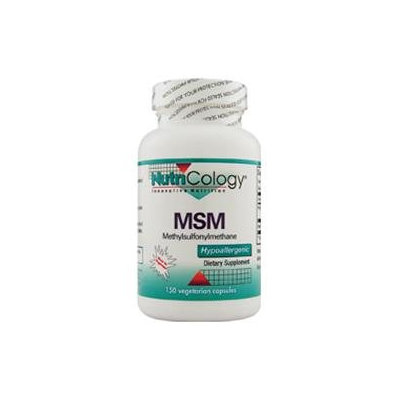 NutriCology MSM - 150 Capsules