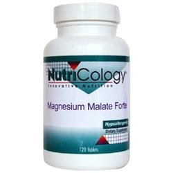 NutriCology Magnesium Malate Forte - 120 Tablets