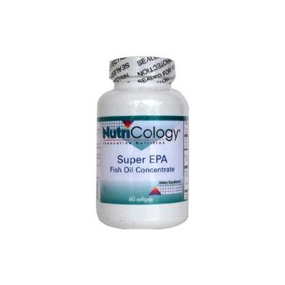 Nutricology - Super EPA Fish Oil Concentrate - 60 Softgels