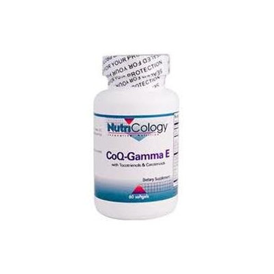 NutriCology CoQ-Gamma E - 60 Softgels
