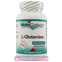 Allergy Research nutricology Allergy Research (Nutricology) L-Glutamine - 100 Capsules - Glutamine