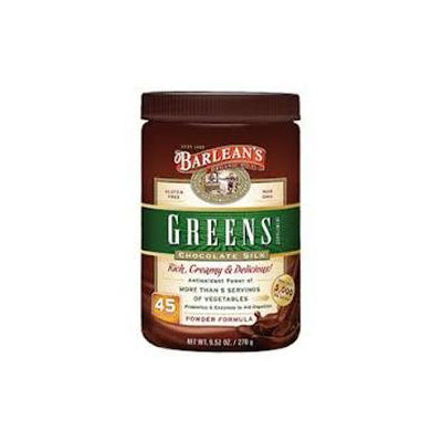 Barlean's Organic Oils Greens, Chocolate Silk Barlean's 9.5 oz Powder