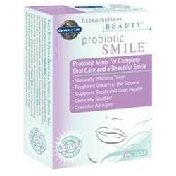 Garden of Life Extraordinary Beauty Probiotic Smile Mints