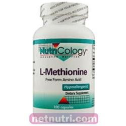 Allergy Research nutricology L-Methionine 500 mg 100 Caps by Nutricology/ Allergy Research Group