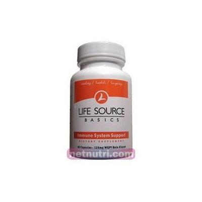 Immune Health Basics - Beta Glucan with Wellmune WGP Immune Support 125 mg. - 60 Capsules