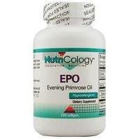 NutriCology EPO Evening Primrose Oil - 120 Softgels