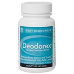 Deodorex, 60 Capsules, Quality of Life Labs