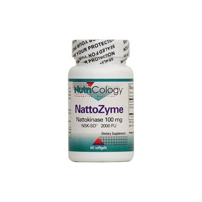 Allergy Research nutricology Nutricology - NattoZyme Nattokinase 100 mg. - 60 Softgels