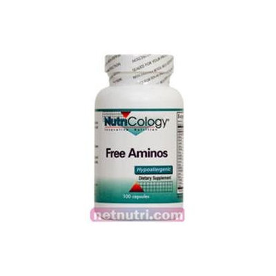 Allergy Research nutricology Free Aminos 100 Caps by Nutricology/ Allergy Research Group