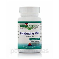 Allergy Research nutricology Pyridoxine P5P Vitamin B6 60 caps from NutriCology