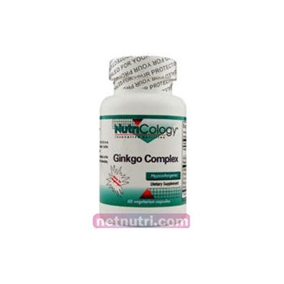 Allergy Research nutricology Ginkgo Complex 60 Caps by Nutricology/ Allergy Research Group