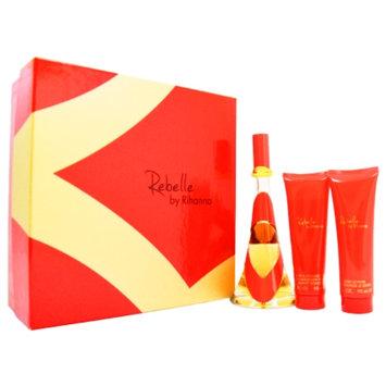 Rihanna Rebelle Gift Set for Women, 3 Piece, 1 set