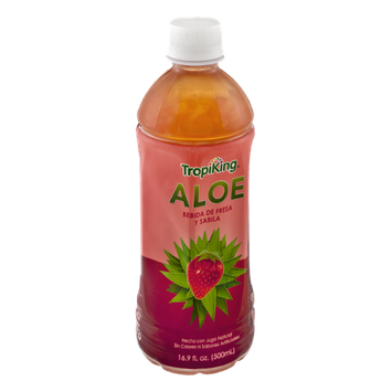 TropiKing Aloe Vera & Strawberry Juice Drink