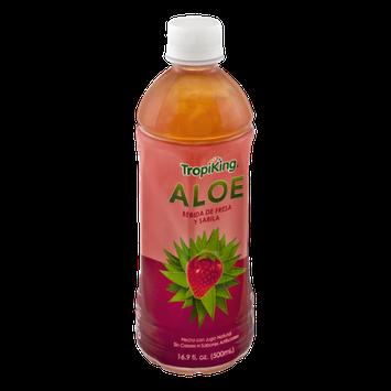 TropiKing Aloe Vera & Strawberry Juice Drink