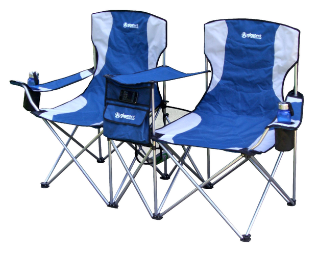 Gigatent GigaTent Side-By-Side Double Camp Chair - Blue