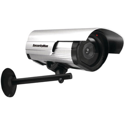 Security Man SecurityMan SM-3802 Dummy Indoor/Outdoor Camera with LED