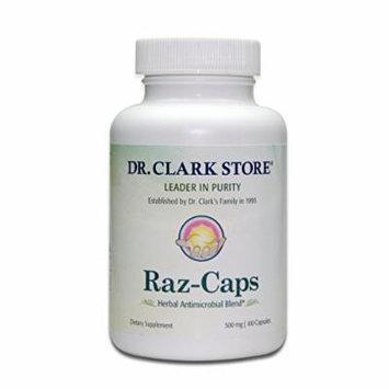 Dr. Clark Raz-Caps Supplement, 500mg, 100 capsules