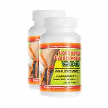 2 Garcinia Cambogia Extract Pure 1000mg Potassium Calcium 60% HCA Weight Loss