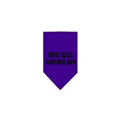 Ahi It's All About Me Screen Print Bandana Purple Large