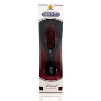 Kent Brushes Oval Porcupine Cushion Hairbrush, Ruby CSMS, Small, 6 Ounce