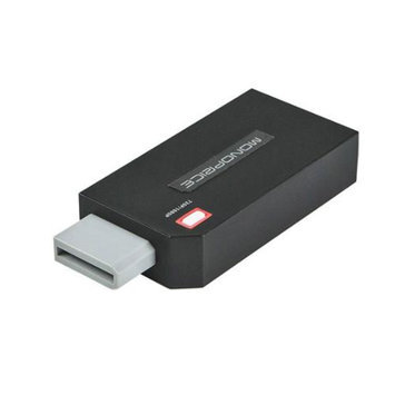 Monoprice Wii to HDMI 1080p HDTV Adapter - Black