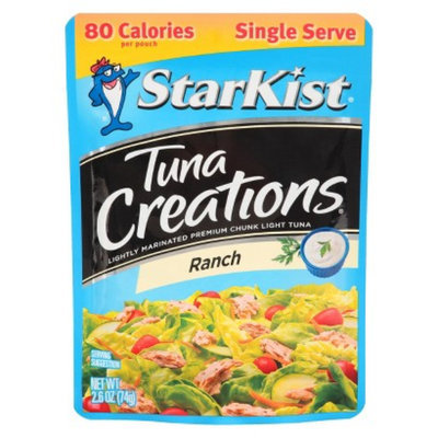 Starkist StarKist Single Serve Ranch Flavored Tuna Creations 2.6 oz