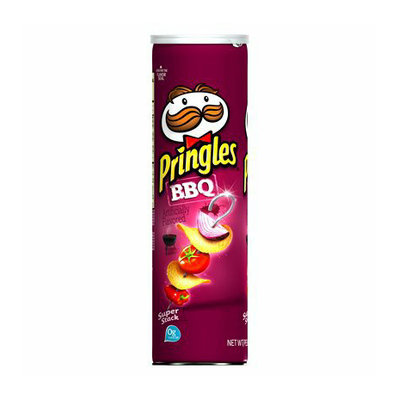 Pringles® Super Stack BBQ Potato Crisps