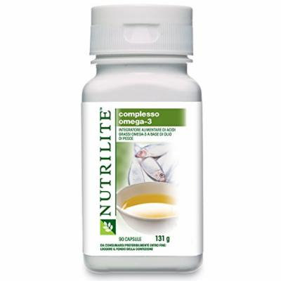 Nutrilite Fish OIL Capsule Salmon Fish Oil Provides Omega-3 Fatty Acids Net Content: 90 Capsules By Amway