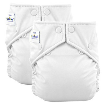 FuzziBunz Perfect Size Reusable Diapers - Medium (2 Pack)