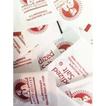 2,000 individual salt packets-The brand used by chefs! .75 grams (compare to other brands with only .5 g per packet!)