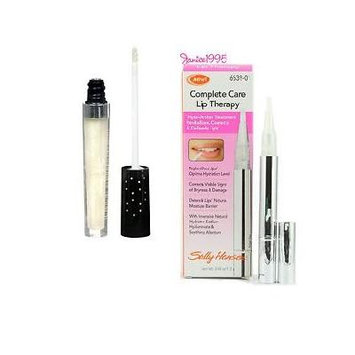 Sally Hansen Diamond 12 Hour Lip Treatment, Asscher 6698-30 **2 PACK COMBO** Includes 1 COMPLETE CARE LIP THERAPY tube