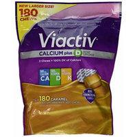 Viactiv Calcium Plus D Caramel Flavored Dietary Supplement - 180 Chews