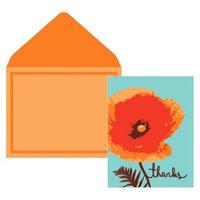 Compendium Thank You 10 Ct Bold Poppy Orange