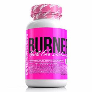 SHREDZ Made for Women Line - Burner - Veg Capsules - 30 Day Supply