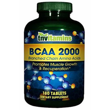 BCAA 2000 Branched Chain Amino Acids - 180 Tablets
