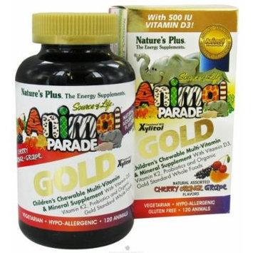 SOL Animal Parade Gold-children's Multi-vitamin & Mineral Assorted Flavors Natur (240 Animals)