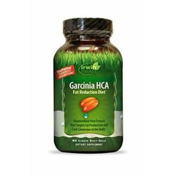 Irwin Naturals Garcinia Hca Fat Reduction Diet Supplement, 90 Count