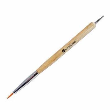 Winstonia Two-Way Nail-Art Detailing Brush and Dotter Dotting Tool Detailer Pen