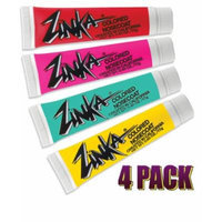 Zinka 4 Pack- Red/Pink/Yellow/Teal