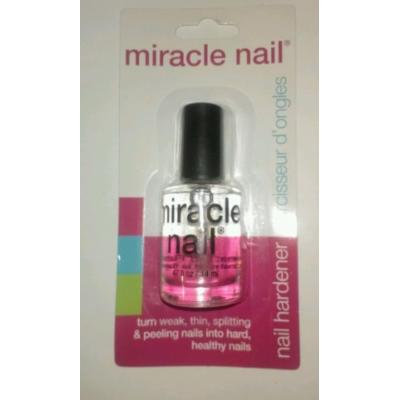 Miracle Nail Hardener Clear Base Coat Polish