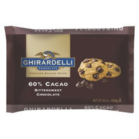 Ghirardelli 60% Cacao Bittersweet Chocolate Baking Chips 20 oz